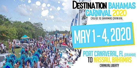 Cruise to Bahamas Carnival 2020 tickets