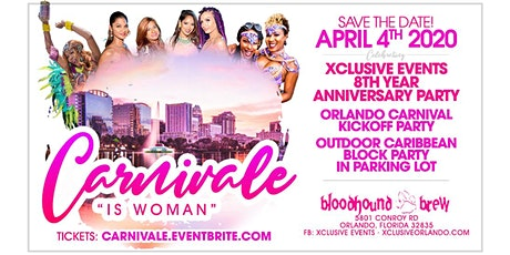 "Carnivale ""Caribbean Outdoor Block Party"" tickets"