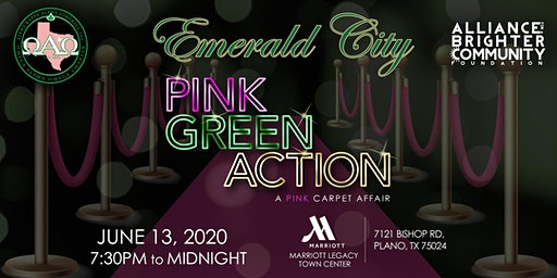 "AKA-Emerald City - ""Pink, Green, Action: A Pink Carpet Affair"""