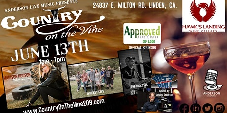 Country on the VIne 2020 tickets