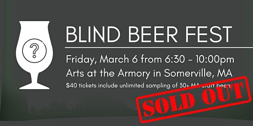 Blind Beer Fest - SOLD OUT!