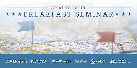 Vacation Rental Breakfast Seminar - Myrtle Beach, SC - September 2020 tickets