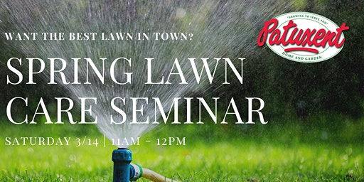 Spring Lawn Care Seminar
