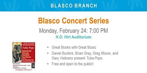 Blasco Library Concert Series: Tuba Pops