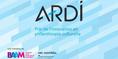 Soirée de remise des Prix ARDI 2020 billets