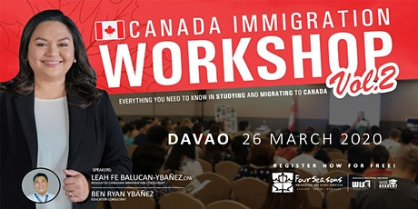 Canada Immigration Workshop - DAVAO tickets