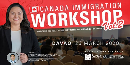 Canada Immigration Workshop - DAVAO