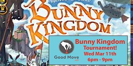 Bunny Kingdom Tournament March 11th!