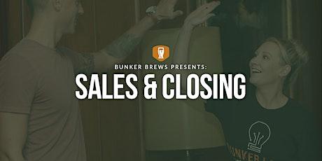 Bunker Brews Denver: Sales & Closing tickets