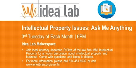 """""""Ask Me Anything"""" Intellectual Property (BLA) tickets"""