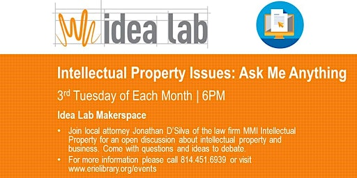 """""""Ask Me Anything"""" Intellectual Property (BLA)"""