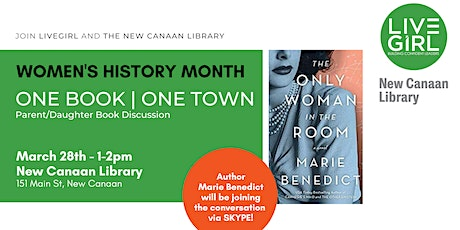 One Book | One Town with Marie Benedict tickets