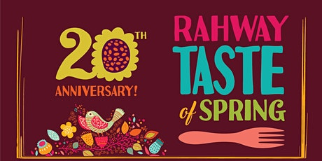 Rahway Taste of Spring 20th Anniversary tickets