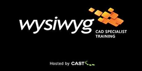 wysiwyg CAD Specialist Training - Toronto, Canada tickets
