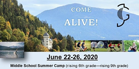 Jacob's Generation  European Summer Middle School Camp 2020 Tickets
