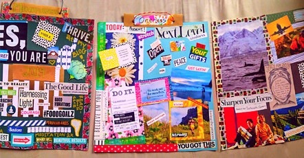 Create your life - Vision Board Workshop tickets