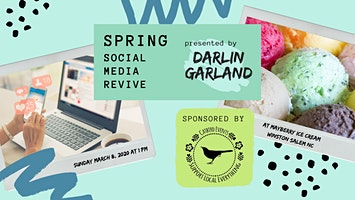 Spring Social Media Revive Vendor Workshop
