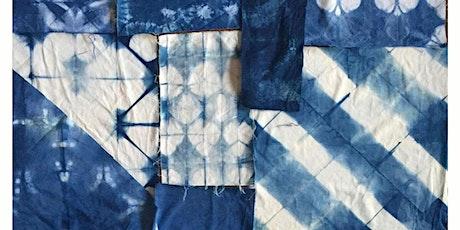 Natural Indigo dye Shibori workshop with Melissa Patronella tickets