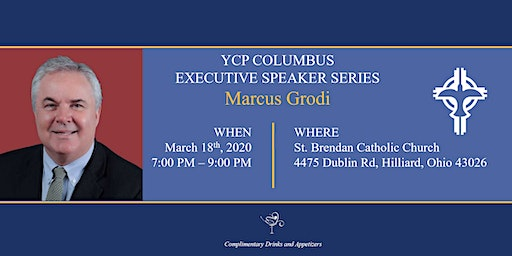 Executive Speaker Series: Marcus Grodi
