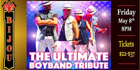 The Ultimate Boyband Tribute - Larger Than Life tickets