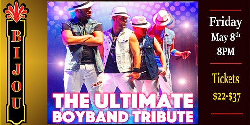 The Ultimate Boyband Tribute - Larger Than Life