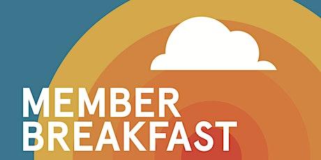 Member Breakfast tickets