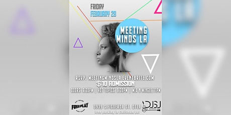 Meeting Minds LA - All  Black Everything! tickets