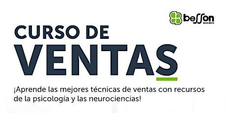Curso Gratuito de Neuroventas mediante Psicología Comercial. Sesiòn 2 de 3. boletos