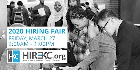 Hire KC 2020 Hiring Fair - Student & School Registration tickets