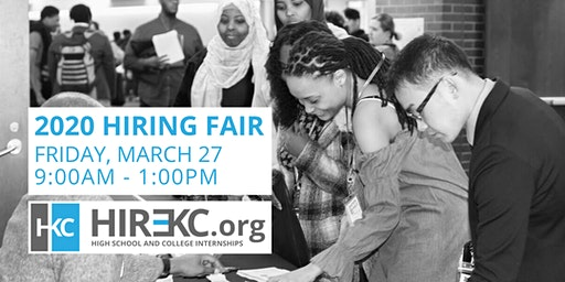 Hire KC 2020 Hiring Fair - Student & School Registration