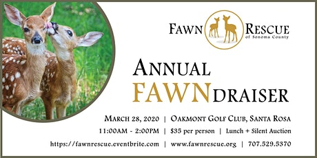 Fawn Rescue of Sonoma County's Annual FAWNdraiser tickets