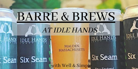 Barre and Brews at Idle Hands tickets