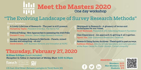 Meet the Masters 2020 tickets