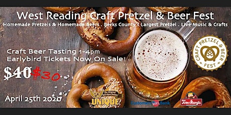 West Reading Craft Pretzel & Beer Tasting tickets