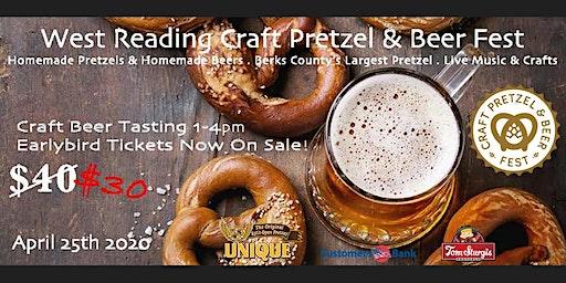 West Reading Craft Pretzel & Beer Tasting