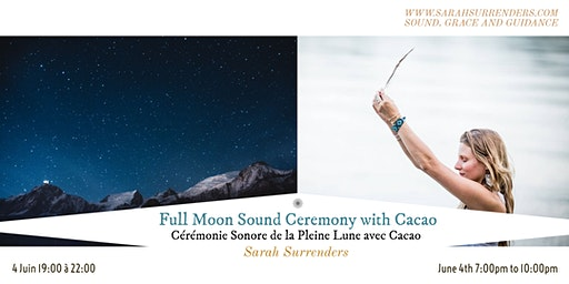 Full Moon Sound Ceremony with Cacao