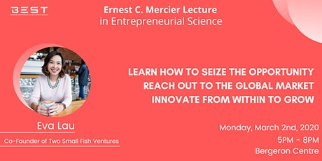 Mercier Lecture with Eva Lau tickets