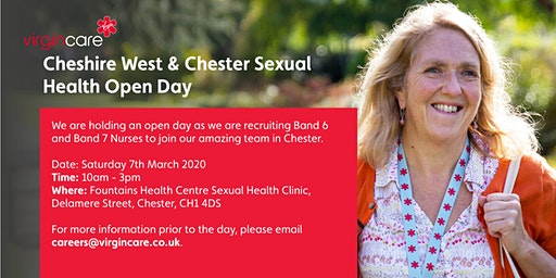 Cheshire West and Chester Sexual Health Recruitment Open Day