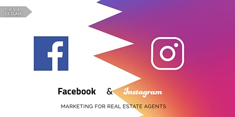 Facebook & Instagram Marketing for Real Estate Agents- CE 2 Credits tickets