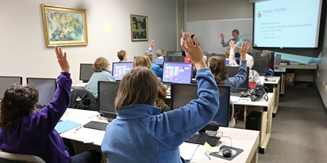 Liberal Arts and 55+ Program Canvas Workshop tickets