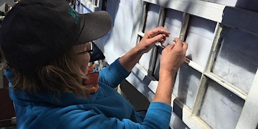 Historic Window Pane Replacement Workshop