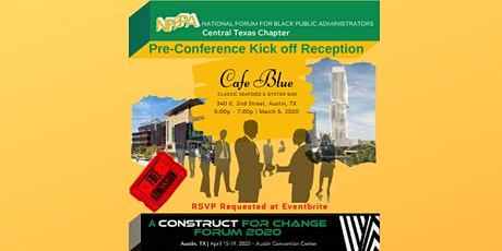 NFBPA FORUM 2020 Central Texas Chapter Pre-Conference Kick Off Reception tickets