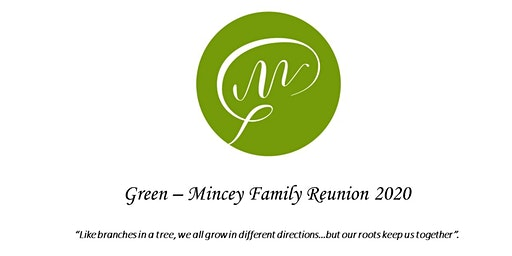 2020 Green-Mincey Family Reunion Shirt Size/Age