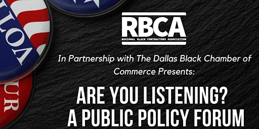 Are You Listening? |  A Public Policy Forum