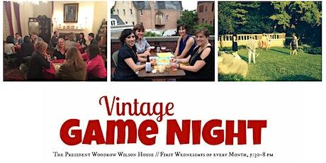 Vintage Game Night tickets