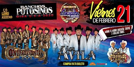 Los Contrabandistas, Los Avila & Los Fiscales tickets