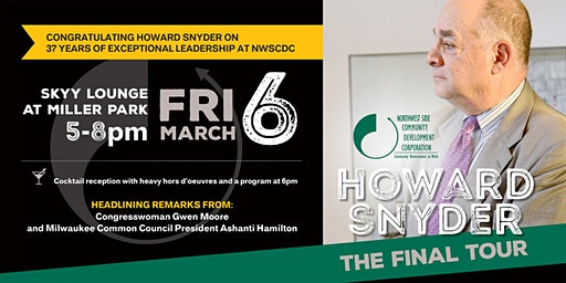 Celebrating 37 years of NWSCDC: Howard Snyder - The Final Tour!