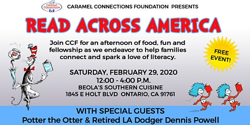 Read Across America with Caramel Connections Foundation