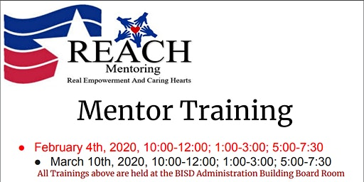 REACH Mentor Training
