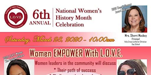 National Women's History Month Celebration